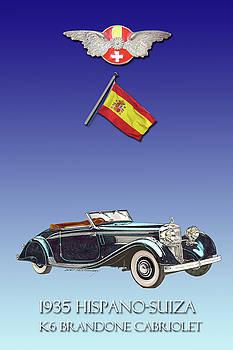 Jack Pumphrey - 1935 Hispano Suiza K 6 Brandone Cabriolet