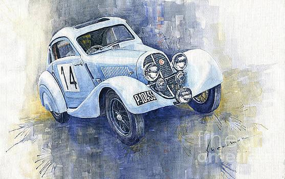 1937 Aero 750 Sport Coupe by Yuriy Shevchuk