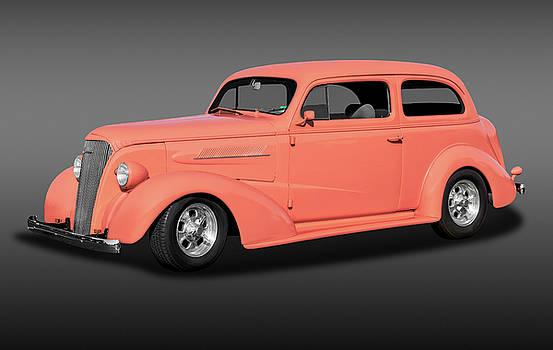 1937 Chevrolet Two Door Sedan  -  1937chevy2doorsedanfa172135 by Frank J Benz