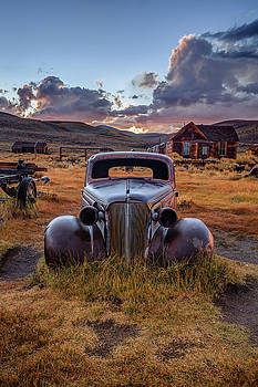 1937 Chevy at Sunset by Jeff Sullivan