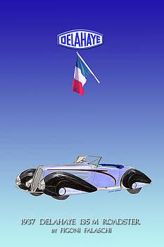 Jack Pumphrey - 1937 Delahae 135 M Roadster