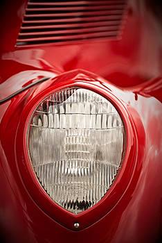 onyonet  photo studios - 1937 Ford Headlight Detail