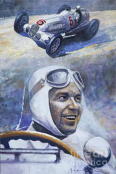 1937 Rudolf Caracciola MB W125 by Yuriy Shevchuk