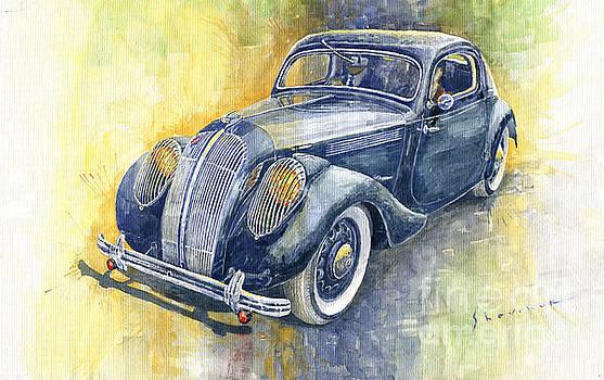 1937 Skoda Popular Sport Monte Carlo by Yuriy Shevchuk