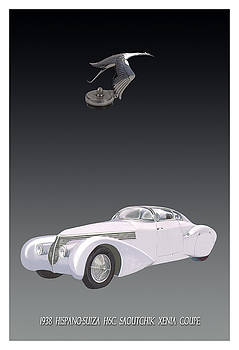 1938 Hispano Suiza Xena Coupe by Jack Pumphrey
