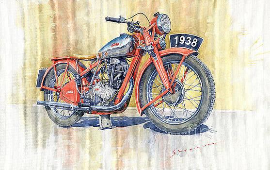 1938 Jawa 350 Ohv by Yuriy Shevchuk