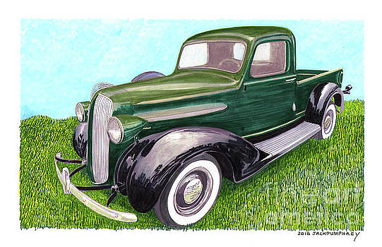 Jack Pumphrey - 1938 Plymouth Pick Up Truck
