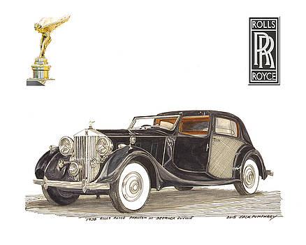 Jack Pumphrey - 1938 Rolls Royce Phantom I I I Sedanca DeVille