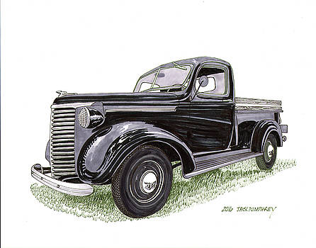 1939 Chevrolet half ton pick up by Jack Pumphrey