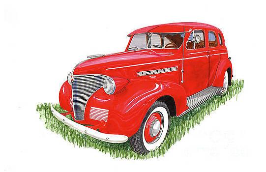 Jack Pumphrey - 1939 Chevrolet Master Deluxe sedan