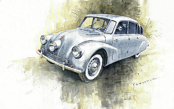 1939 Tatra T87  by Yuriy Shevchuk
