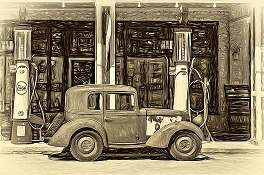Steve Harrington - 1940 Bantam Coupe 2 - Paint Sepia