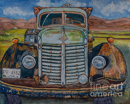 1940 International Harvester Truck by DJ Laughlin