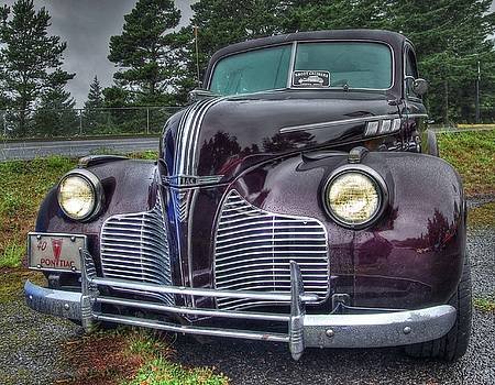 Thom Zehrfeld - Raining On This 1940 Pontiac Coupe