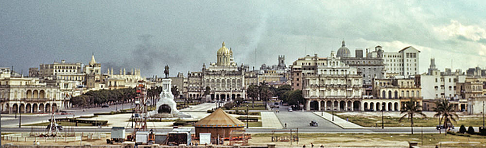 1940s Havana Skyline by Eric Bjerke Sr