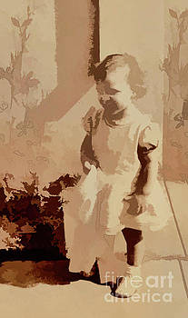1940s Little Girl by Linda Phelps