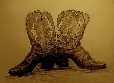 1940's Viintage Cowboy Boots by Susan Gahr