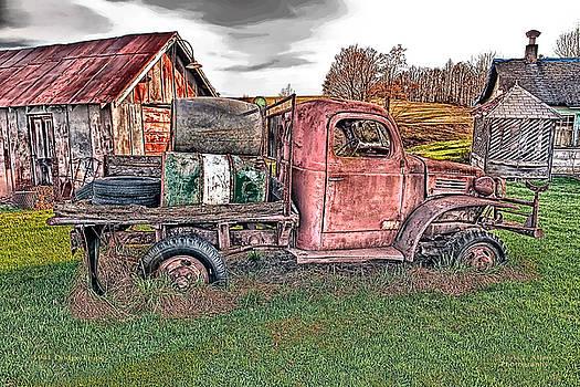 1941 Dodge Truck by Mark Allen