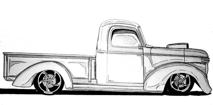 1941 Hotrod by Nathan  Miller