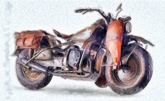 1942 Harley Davidson, Military, 750cc by Caito Junqueira