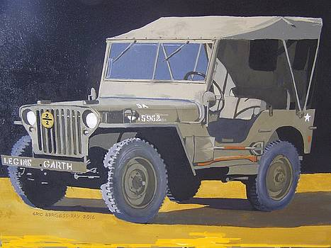 1942 US army Willys jeep by Eric Burgess-Ray