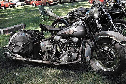 1946 Harley Davidson by Kae Cheatham