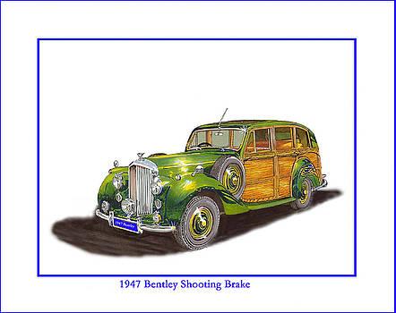 Jack Pumphrey - British Station Wagon 1947 Bentley Shooting Brake