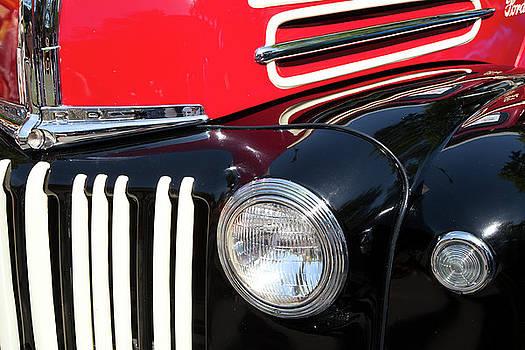 1947 Vintage Ford Pickup Truck by Theresa Tahara