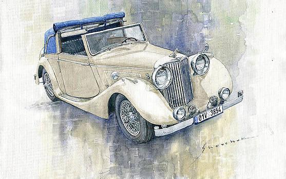 1948 Jaguar Mark IV DHC by Yuriy Shevchuk