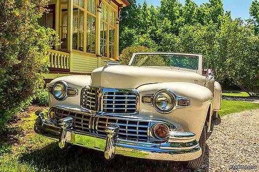 1948 Lincoln convertible  by Ken Morris