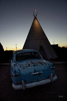 David Gordon - 1950 Blue Ford