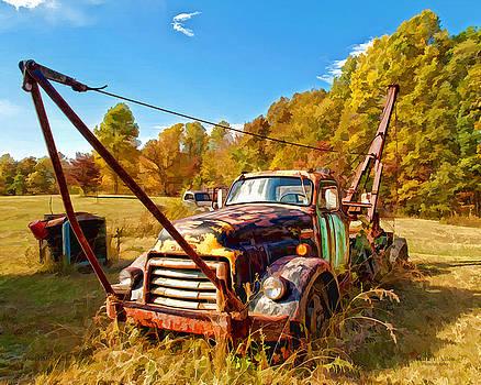1950 GMC Truck by Mark Allen
