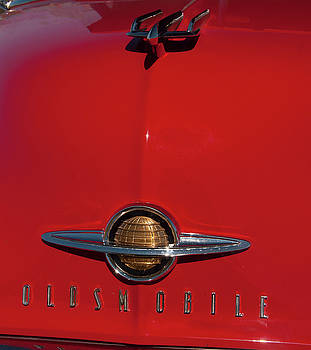 Chris Flees - 1950 Oldsmobile head badge and hood ornament