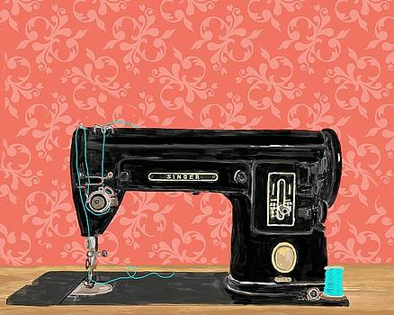 1950's Electric Singer by Blenda Studio