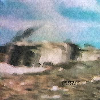 1950's - Hopi Village Impression by Lenore Senior