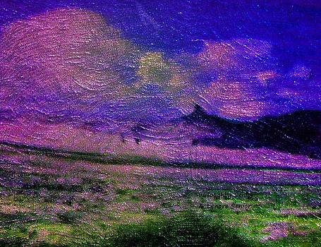 1950's - Landscape on the Horizon by Lenore Senior