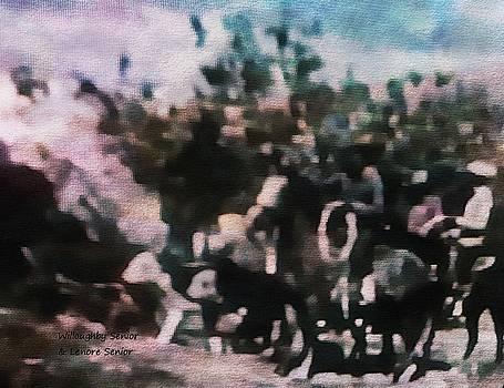 1950's - Navajo Roundup by Lenore Senior
