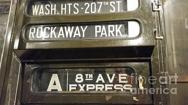 1950's New York City Subway Car by Becca J