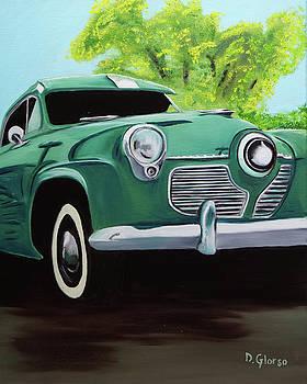 1951 Green Studebaker by Dean Glorso