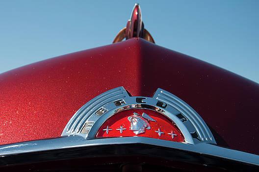Chris Flees - 1951 Mercury Head badge