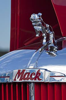 Jill Reger - 1952 L Model Mack Pumper Fire Truck Hood Ornament