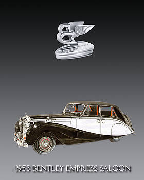 1953 Bentley Empress  by Jack Pumphrey