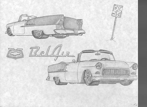 1955 Chevrolet BelAir by Peter Griffen