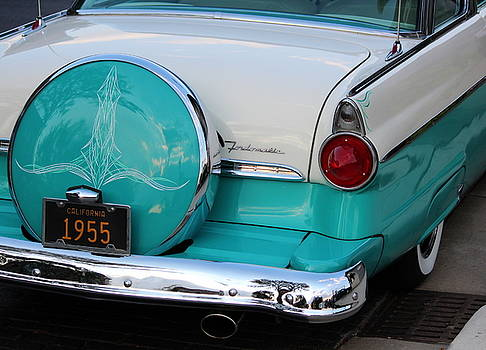Rosanne Jordan - 1955 Ford Fairlane Rear