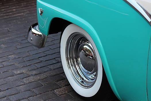Rosanne Jordan - 1955 Ford Fairlane Wheel