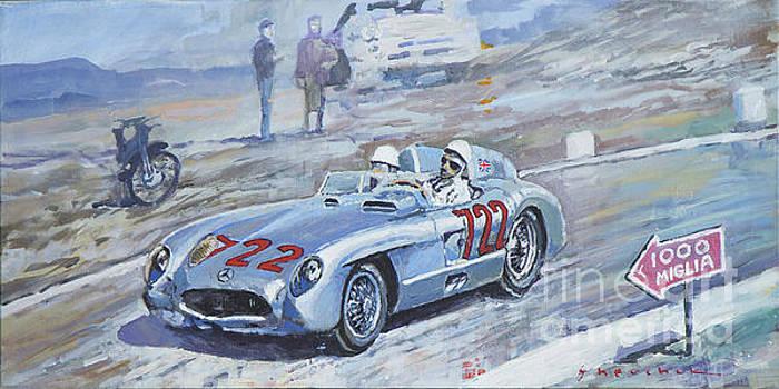 1955 Mercedes Benz 300 SLR Moss Jenkinson winner Mille Miglia 01-02 by Yuriy Shevchuk