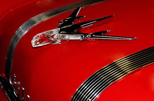 Rosanne Jordan - 1955 Pontiac Starchief Hood Ornament