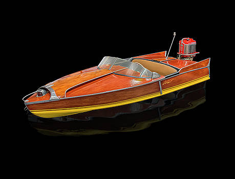 1956 Aristocraft Sea Flash Runabout by Gary Warnimont