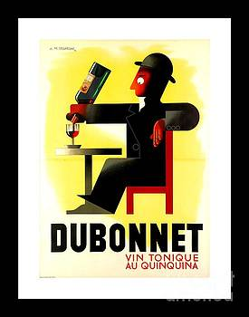 Peter Gumaer Ogden - 1956 Dubonnet Poster by Adolphe Mouron Cassandre