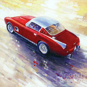 1956 Ferrari 410 SuperAmerica Scaglietti Series by Yuriy Shevchuk